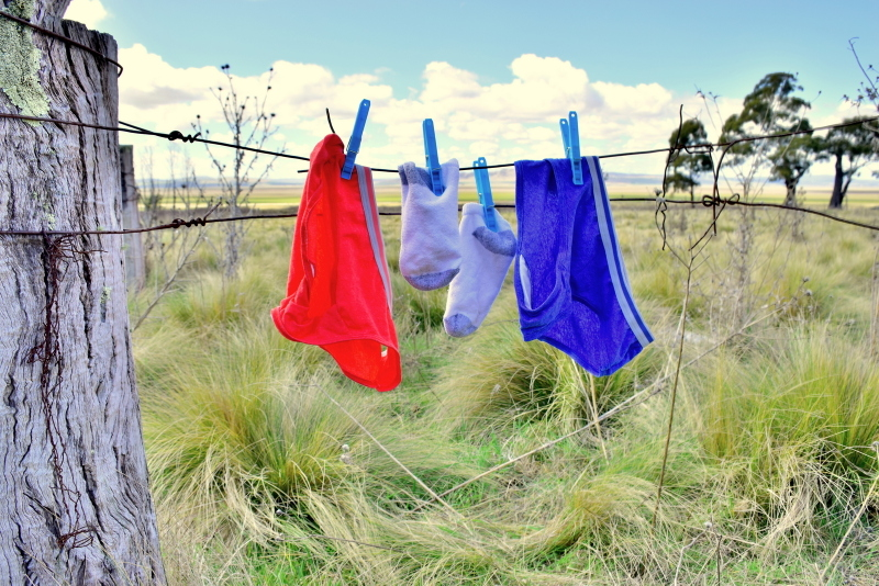 Easiest way to wash your clothes while traveling