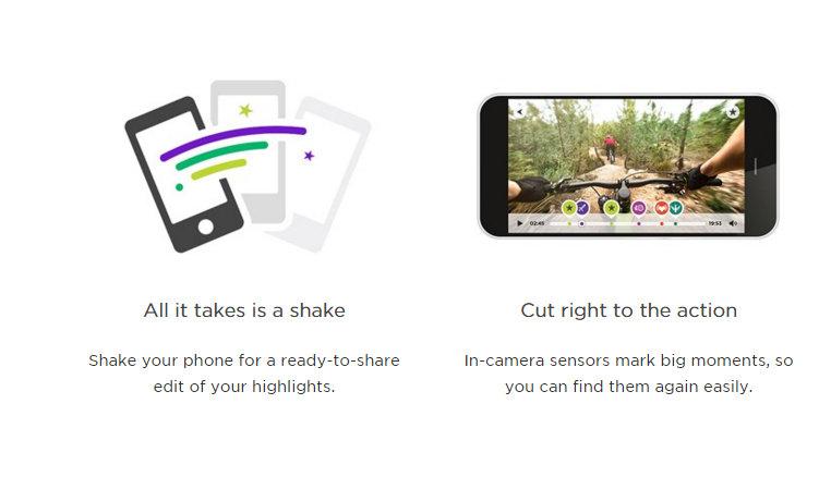 Shake to Edit