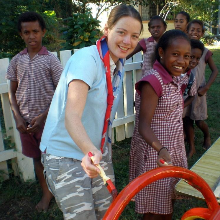 Volunteering in the Solomon Islands