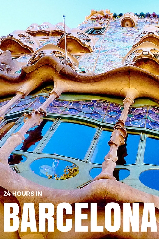 For those who only have 24 hours there's no need to despair; you can easily cram the best of Barcelona into one day. Photo CC Moyan Brenn.