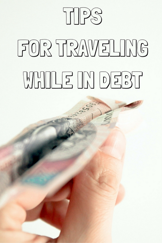 You don't actually have to be debt free to travel! Everything we need in order see the world can be ours for cheaper than it ever has been before, and there are many people out there experiencing the world while still actively paying off their debt.