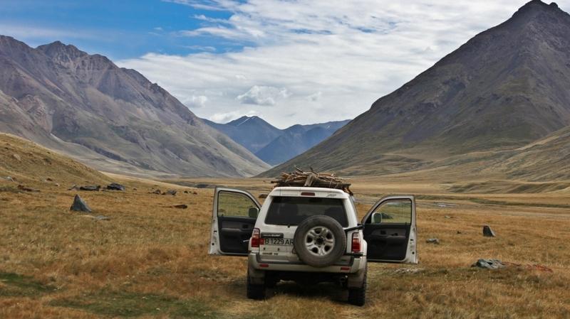 Kyrgyz mountains