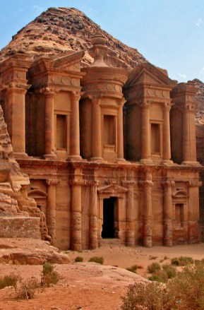 The Monastery (Al Dier), Petra, Jordan.
