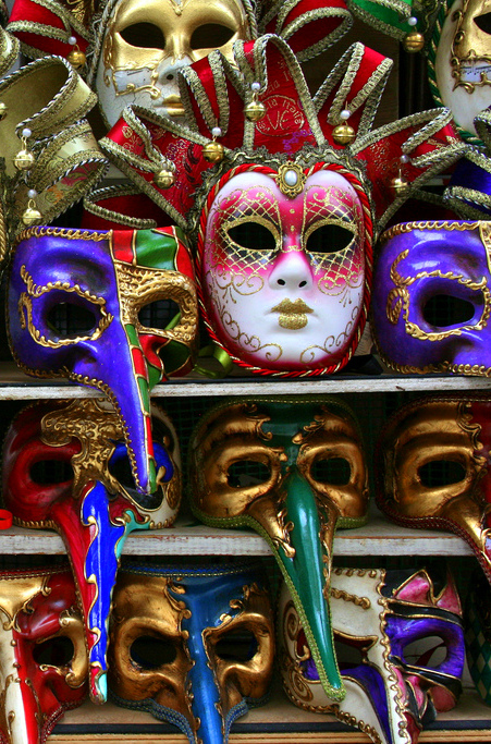 There's only one place in the world for masquerade masks, and that's Venice. Though if you're not heading to Italy any time soon, place a grab and have a traveler pick one up for you!