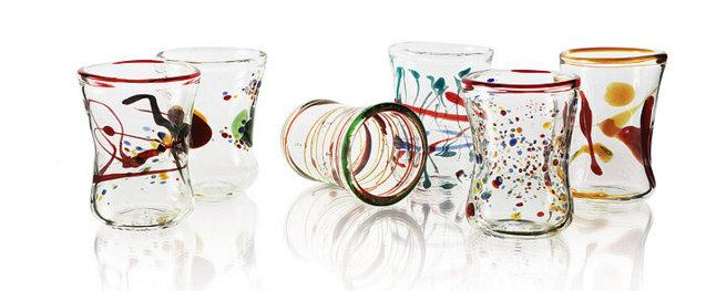 Venetian wine glass