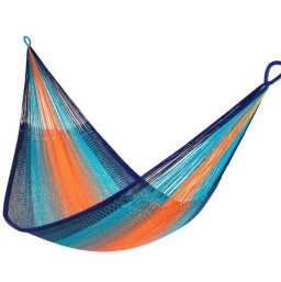 This ultra-cozy hammock-for-two helps to support the people who make it—members of the a small village of the endangered Mlabri people in northern Thailand.