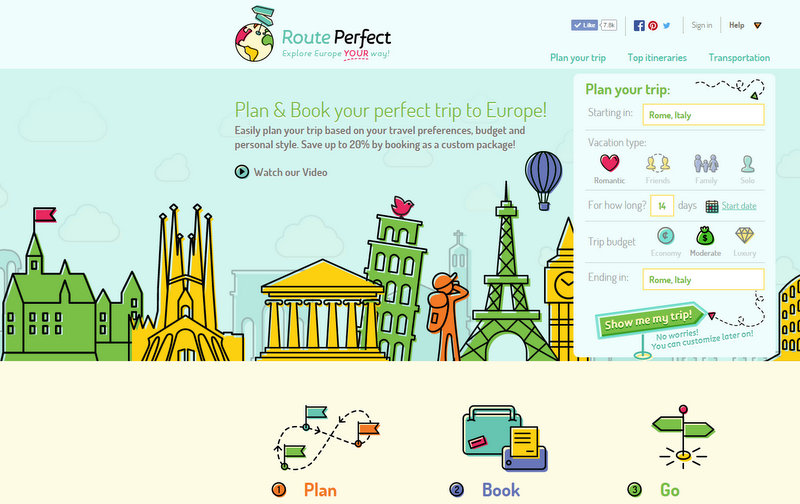 RoutePerfect Plan the Perfect Trip to Europe