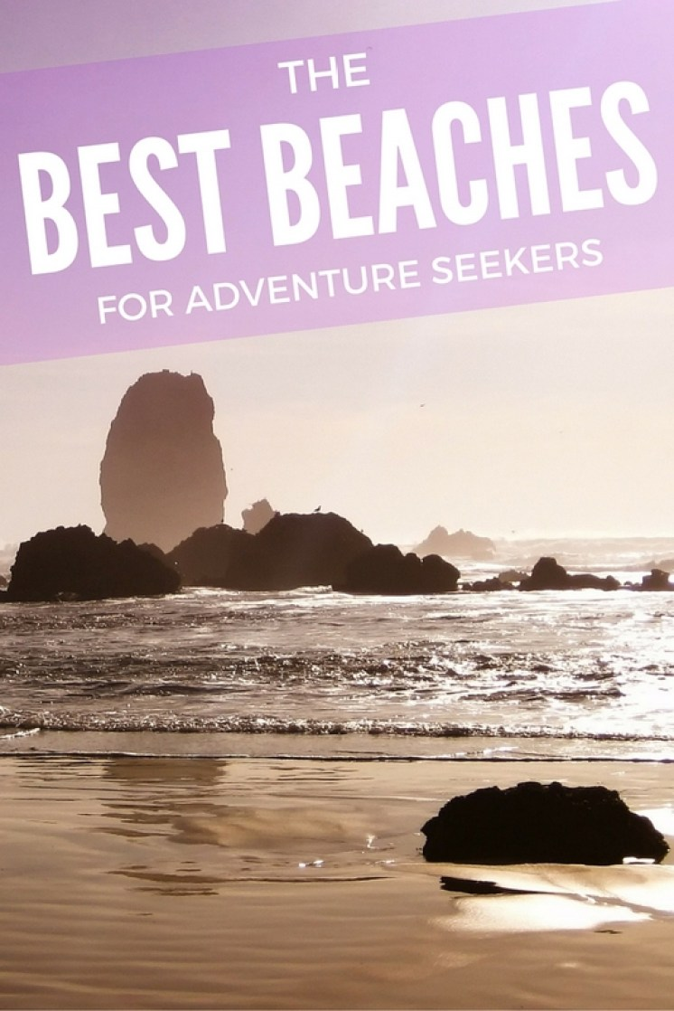 Not every beach has to serve as just a place to relax. And not every beach is so easily accessible from your front door. Sometimes you have to work to get there, and sometimes you need to have the guts, too!