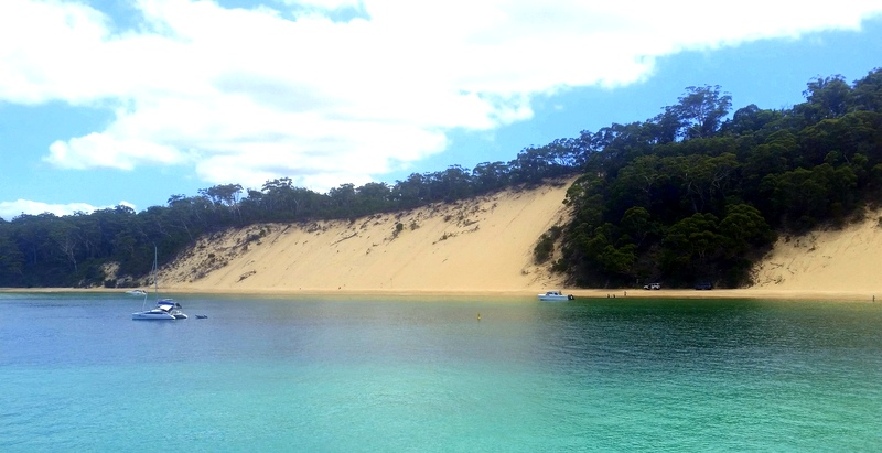 The third largest sand island in the world, this is a unique paradise of golden beaches, massive sand dunes and beautiful fresh water lakes.