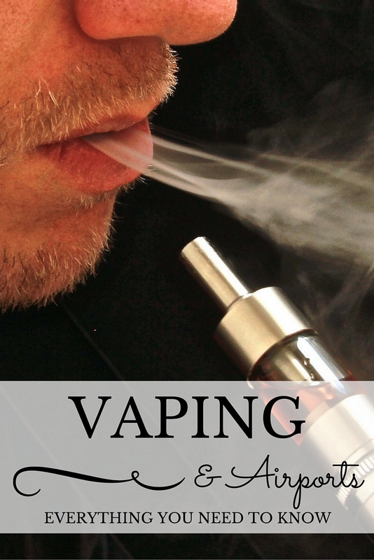 When formulating travel plans, passports need to be checked, tickets booked, accommodation planned, but if you vape there's another consideration to make which may affect your travel destination.