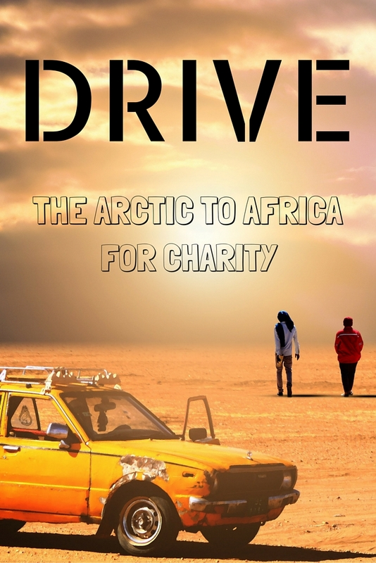 Suporting Cancer Research UK & the Marie Curie Foundation, join the drive from the Arctic Circle to Africa. 1 vehicle, 6 ferries, 25 countries, 15000 miles.