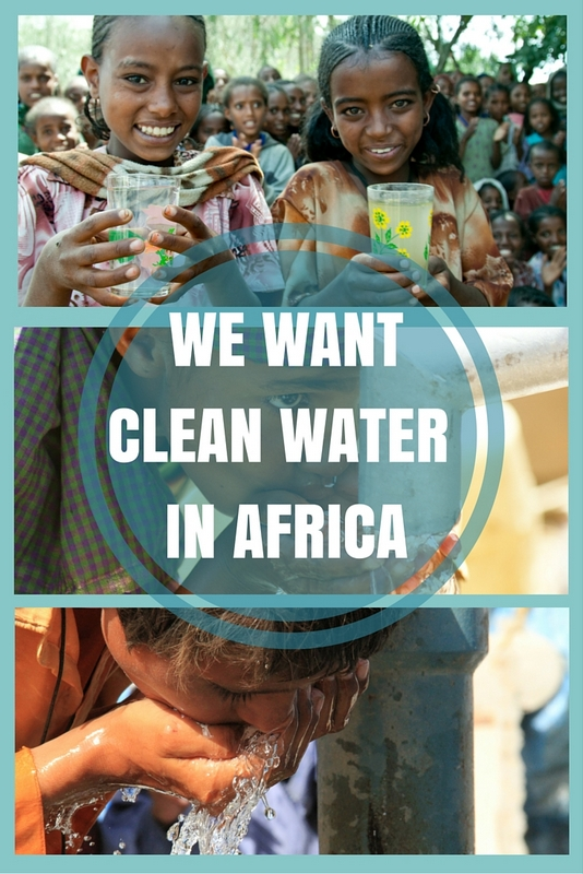 There are more than 780 million people worldwide without access to clean drinking water. 345 million of them live in Africa alone.