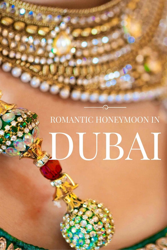 A fast-paced cosmopolitan city with oodles of glitz, glamour and excitement around every corner, a honeymoon in Dubai is a wonderful way to begin married life.