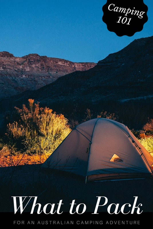 The following are the main items you will be needing for your epic Australian camping adventure, whichever direction you head off in.