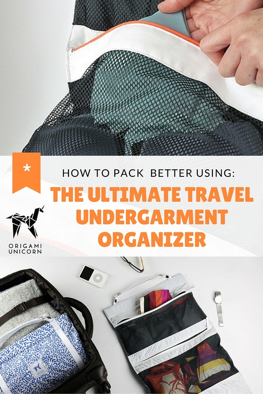 "There are plenty of products out there aimed at keeping travelers organized and simplifying the packing process, though a far as I'm concerned, ""TUO"" by Origami Unicorn stands out above the rest."