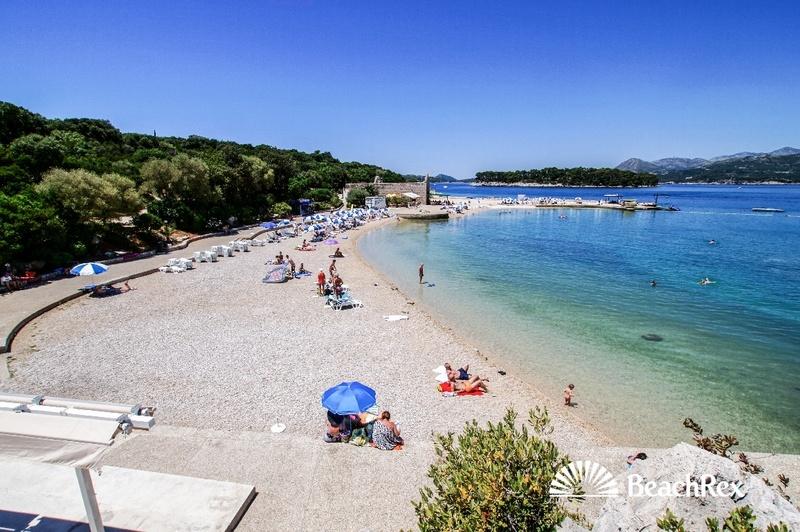 Beach Copacabana, Dubrovnik