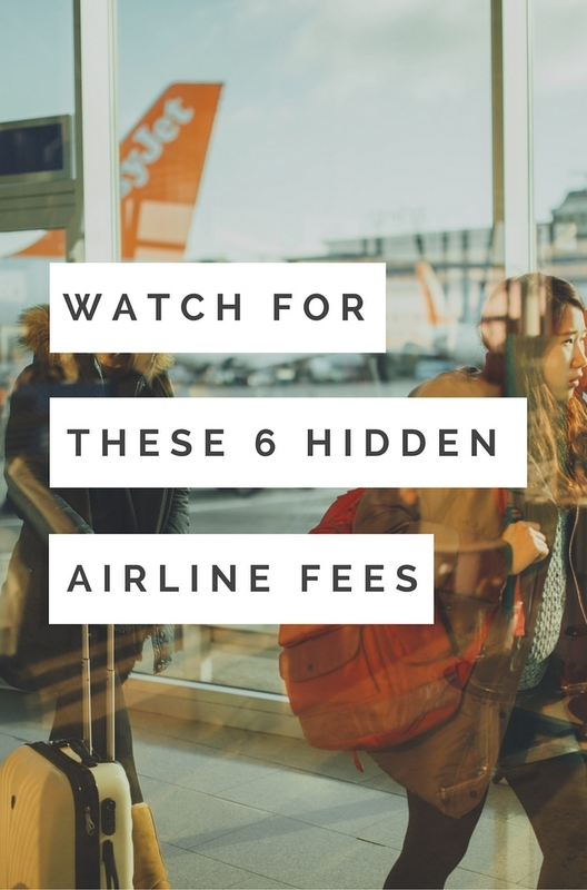 You'll be surprised at how quickly airline fees add up. Everything from the aisle seat to printing a boarding pass now seems to be charged as an extra fee.