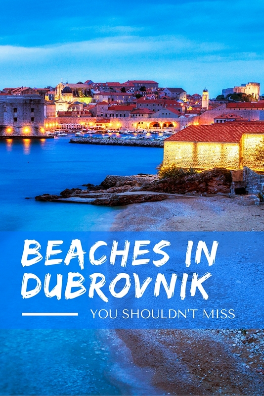 Dubrovnik is famous for the crystal clear waters and endless shimmer of the Adriatic Sea, and many mysterious beaches lie beyond the city walls.