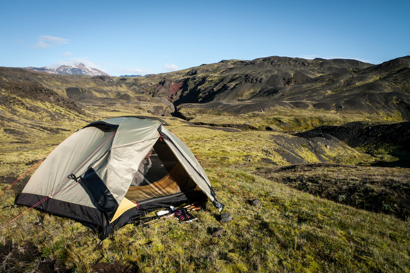 Official campsites in Iceland