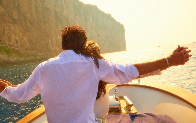 Romantic couples travel