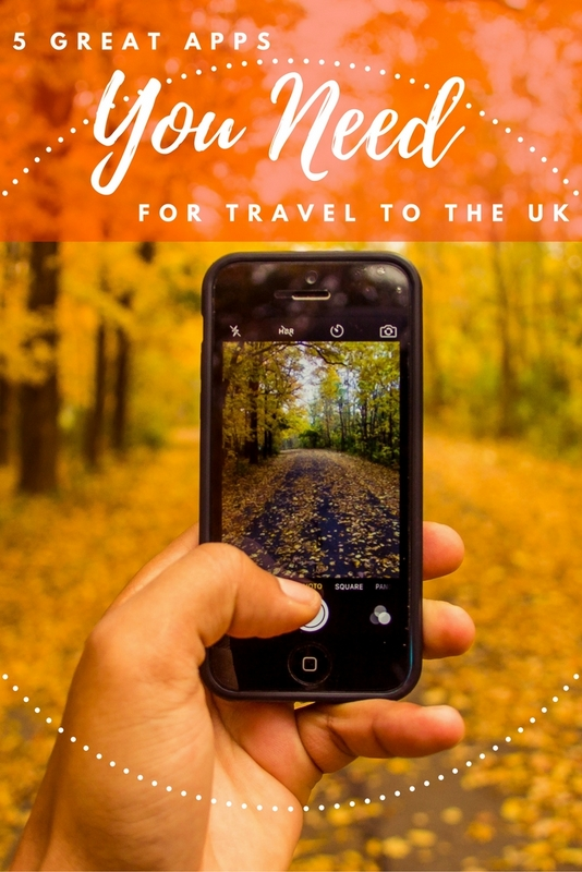 Five Great Apps You Need For Travel to the UK