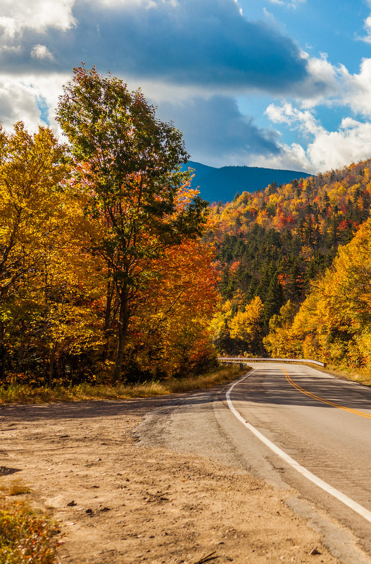 There is no better place to be in the fall if you want to see the leaves turning than Ethan Allen Highway between Burlington and Bennington.
