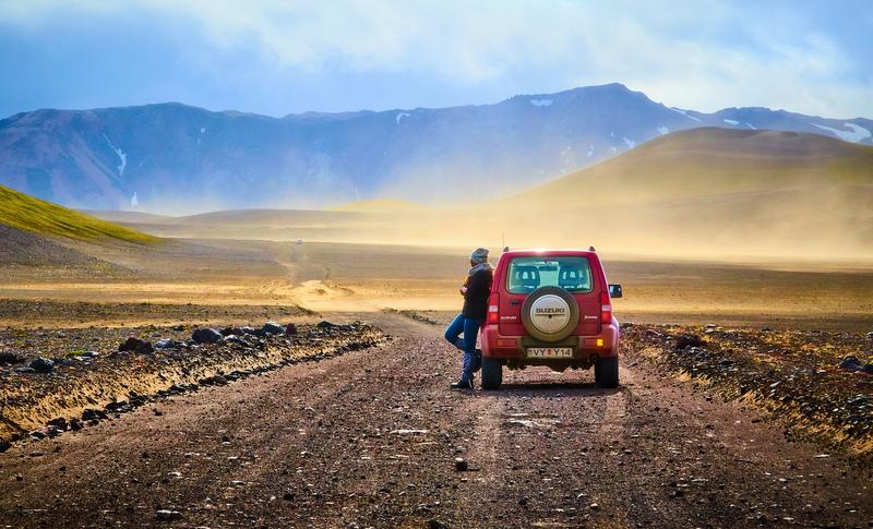 Iceland car truck