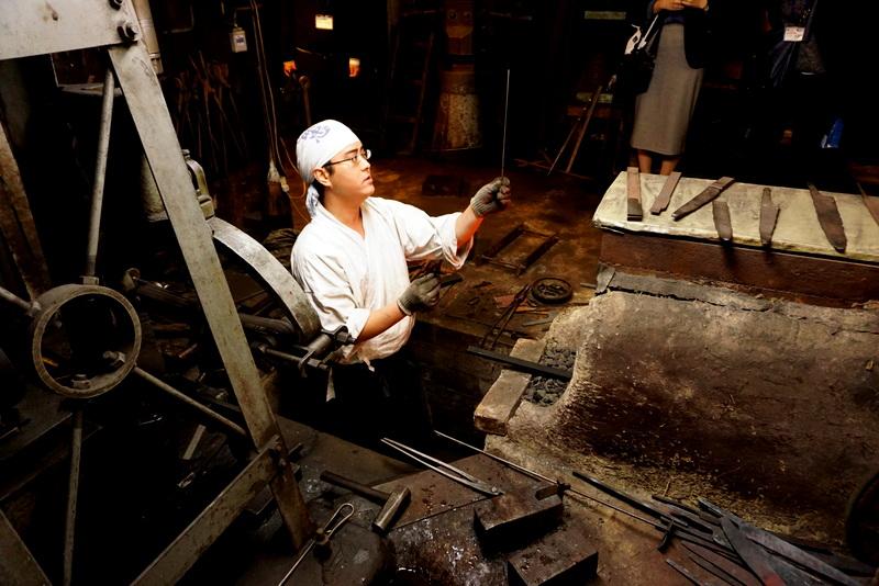 Mizuno's Tanrenjo's workshop