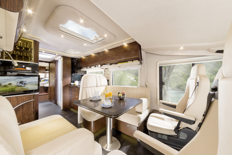 With its sleek style and souped up gadgets, it's like driving around in a trendy downtown Berlin apartment.