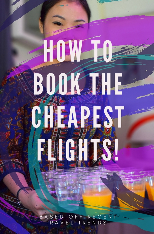 This post has some fabulous insight on how you can save on flights, making sure you're always getting the best airfare!