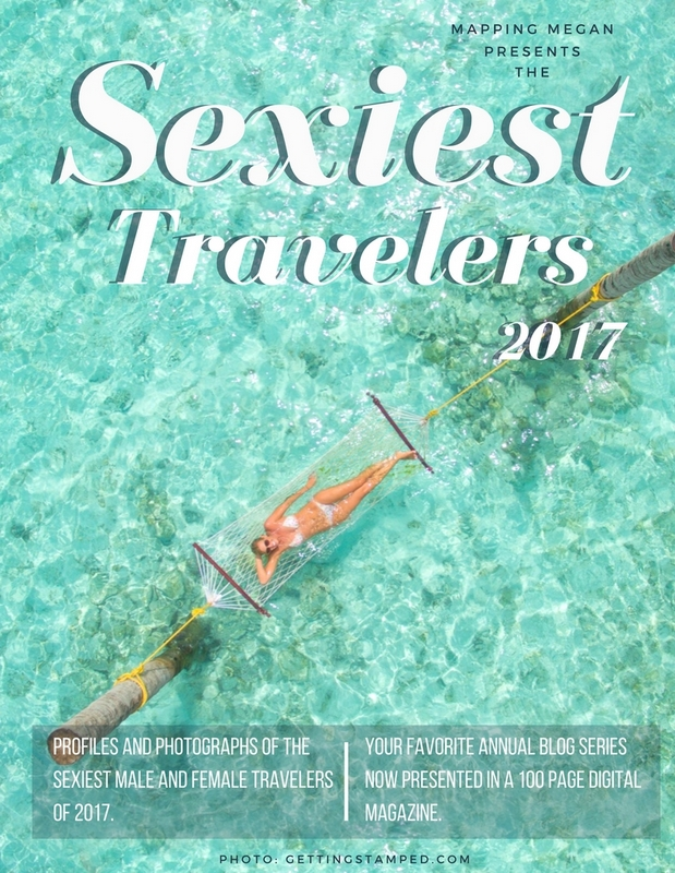 Sexiest Travelers of 2017 Magazine