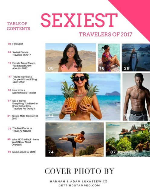 Sexiest Travelers of 2017