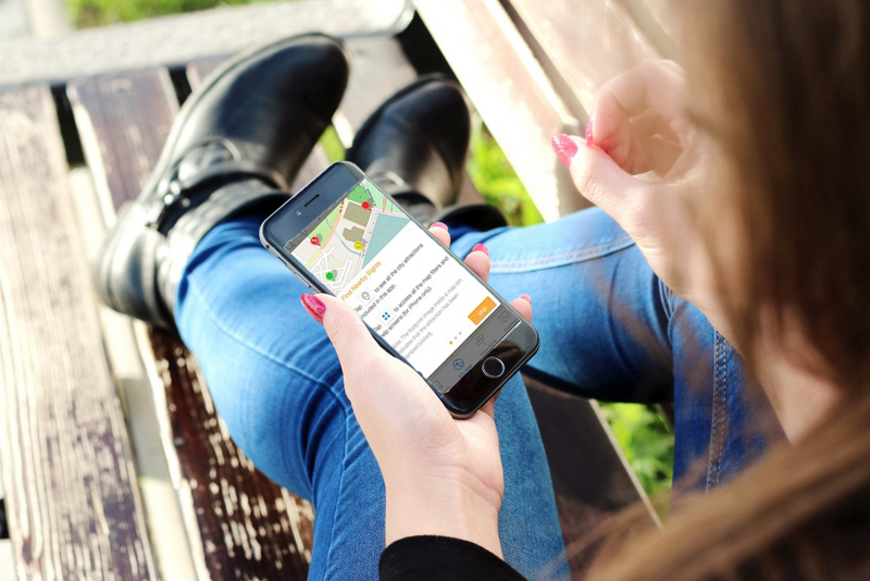 Phone GPSmyCity