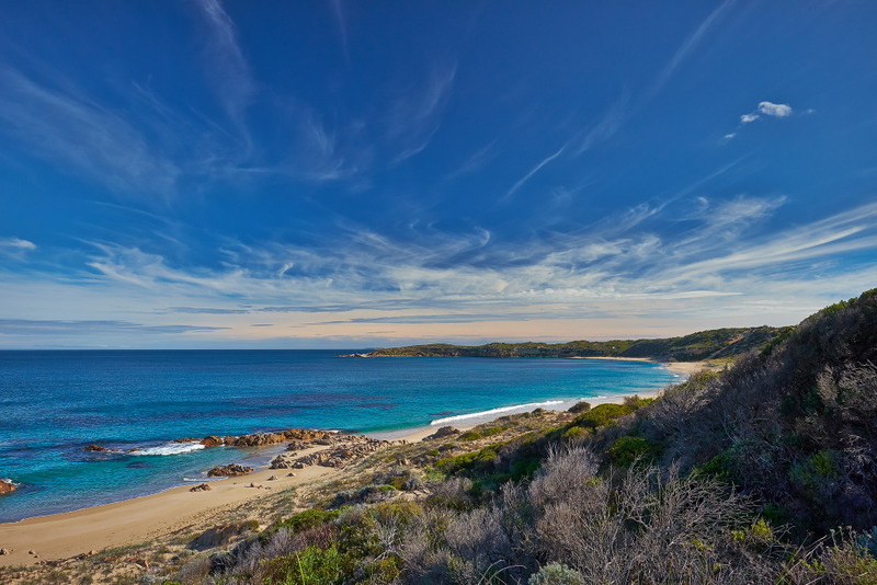 On the very tip of the Yorke Peninsula you'll find the Innes National Park and magnificent Marion Bay.