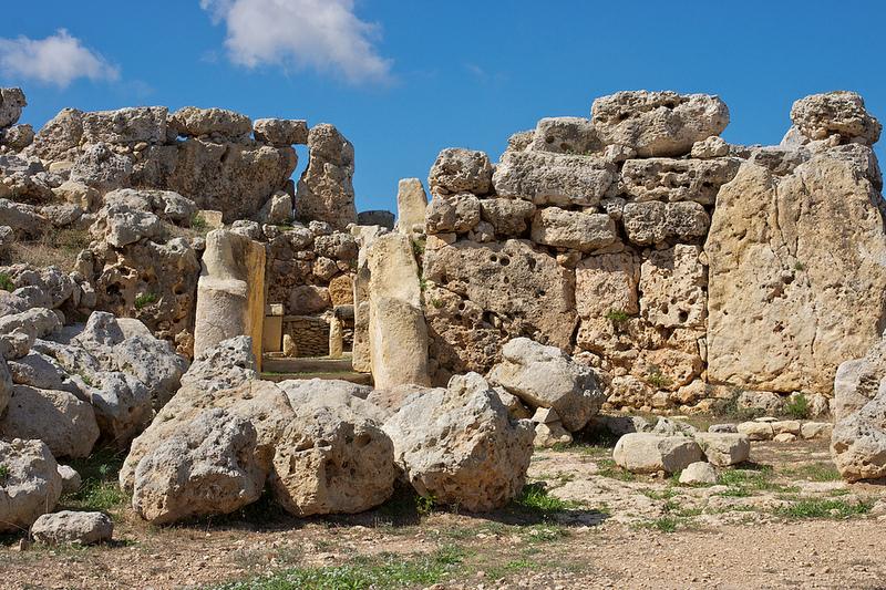 Ġgantija temple Malta