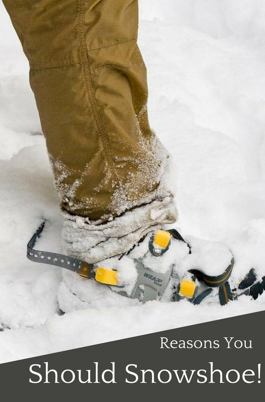 Try Snowshoeing Instead Of Skiing