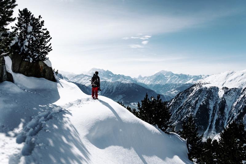 Snowshoeing RF