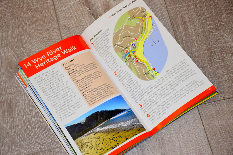 Each walk has multiple pages dedicated to its information.
