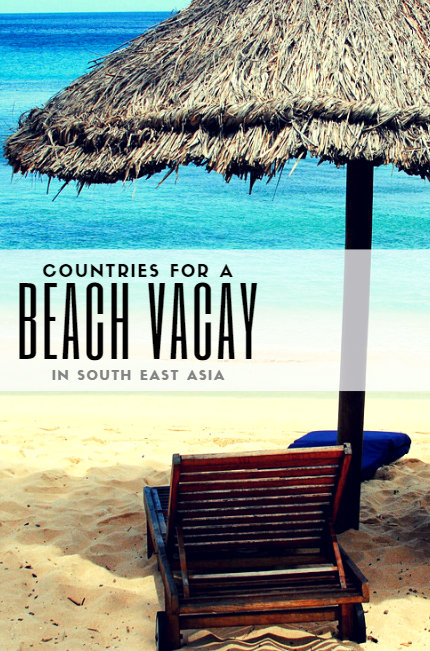 While undoubtedly the Caribbeans, Hawaii and the Bahamas have some of the most beautiful beaches in the world, we would argue that South East Asia has more!