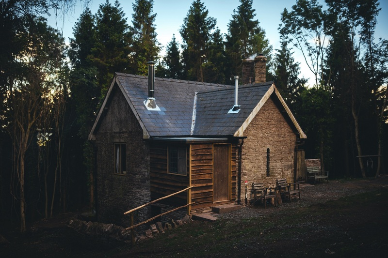 Log Cabin Wales