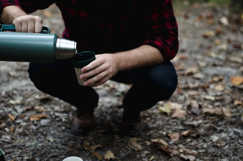 Thermos camping