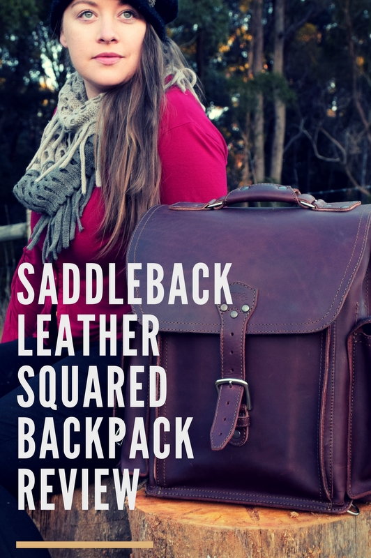 If you're looking for a leather product and want the real deal, Saddleback Leather bags are the way to go. One of their newest bags is the Squared Backpack.