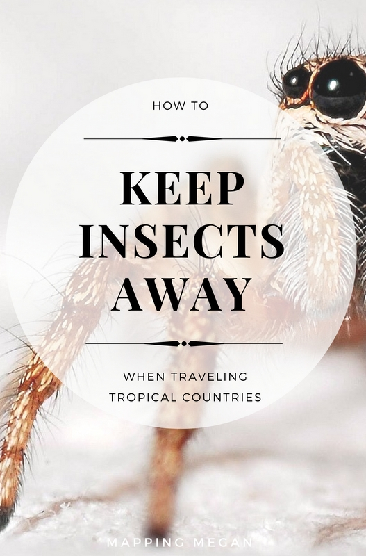Don't let insects discourage you from visiting a country you always wanted to visit. Here are a few basic tips on how to keep insects away.
