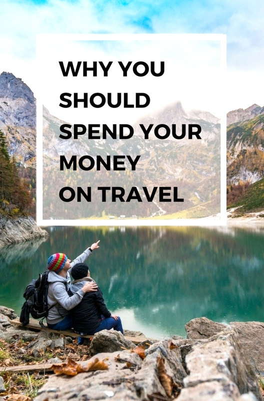 Here are a couple of reasons why you should forget about the latest fashion or accessories and spend your hard-earned cash on travelling.