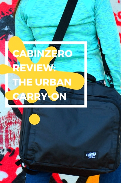 We've found a backpack that active city adventurers will be particularly interested in – the Urban Carry-On from CabinZero, optimized for urban life!