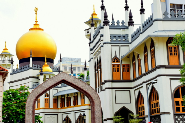 Head to Chinatown or Arab Street for some culture and experience incredible temples and mosques.