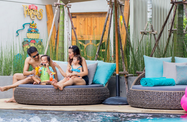 A holiday with the kids is great, but Mai House understands that parents need a break!