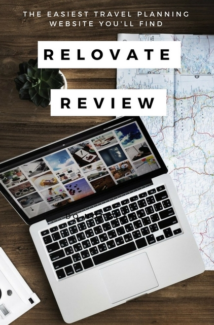 Relovate is a new platform that has been created to simplify the process of planning / booking your travel, and creating your itinerary.
