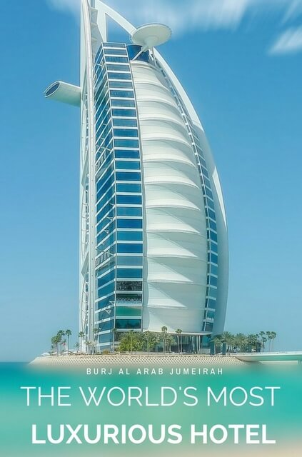 Shaped to resemble the sail of a ship, the Burj Al Arab Jumeirah is an iconic luxury hotel, instantly recognizable as the most luxurious hotel in the world.