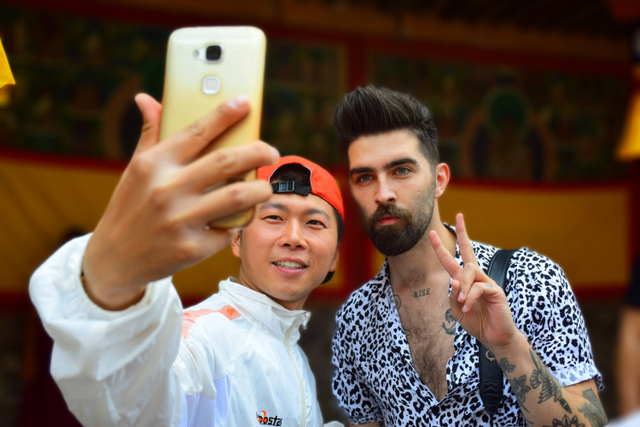 In China, it's pretty easy to make local friends as a foreigner.